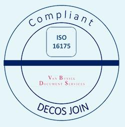 Stempel NEN-ISO 16175
